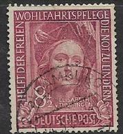 Germany, 1949, V.Thuringen, 8pf + 2pf, Used - [7] Federal Republic