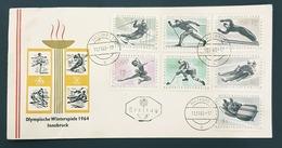 1963 Winter  Olympic  Games, Innsbruck 1964, Salzburg, Austria, Österreich - 1945-.... 2de Republiek