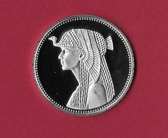 Egypte Egypt. 5 Pounds Proof Queen Cleopatra -Treasure Collection 1999 RARA - Egypte