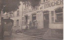 57 - LIXHEIM - RESTAURANT ET BOUCHERIE - Otros Municipios
