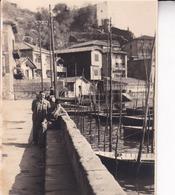 PASAJES De SAN JUAN 1947  Barques Bateaux Photo Amateur Format Environ 7,5 Cm X 5,5 Cm ESPAGNE - Barcos