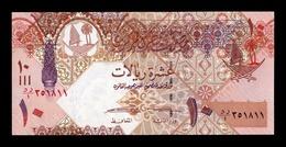 Catar Qatar 10 Riyal 2008 (2017) Pick 30Br Replacement Serie DR/1 SC UNC - Qatar