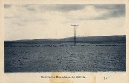 BOLIVIA , TARJETA POSTAL SIN CIRCULAR , COMPAÑIA HUANCHACA DE BOLIVIA , ELECTRICIDAD - Bolivia