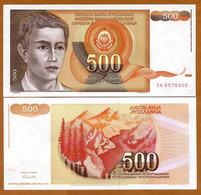 IUGOSLAVIA - 500 DINARA – 1991 – UNC - Joegoslavië