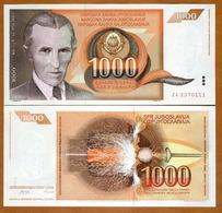 IUGOSLAVIA - 1000 DINARA – 1990 – UNC - Joegoslavië