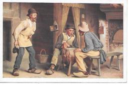 Men Playing Cards, Karten Spielen, Jouer Aux Cartes - Carte Da Gioco