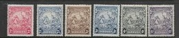 Barbados, GVIR, 1938, Short Set, 1/2d - 6d MH* - Barbados (...-1966)