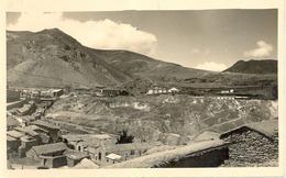 1932 BOLIVIA , TARJETA POSTAL NO CIRCULADA , ENCLAVE DE PULACAYO , ESCRITA AL DORSO - Bolivia
