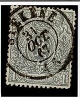 +MW-4368   STEKENE     Dubbel Cirkel   OCB  23 - 1866-1867 Coat Of Arms