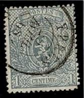 +MW-4388   YPRES   Dubbel Cirkel   OCB  23 - 1866-1867 Kleine Leeuw