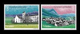 Liechtenstein 2019 Mih. 1957/58 Village Views Of Triesen MNH ** - Liechtenstein