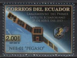 Ecuador (2013) - Set -  /  Espace - Space - Satellite - Pegaso - Espacio