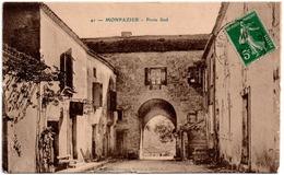 CPA MONPAZIER 24. Porte Sud. 1927 - Andere Gemeenten