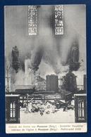Musson. Intérieur De L'église Saint-Martin. Maître-autel Brûlé. Guerre 1914-15 - Musson