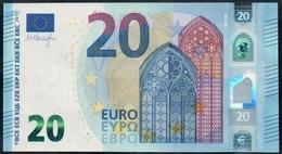 VERY RARE  S001 A1 ABNORMAL INK - UNC - EURO