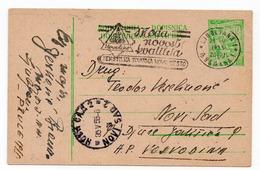 1955 YUGOSLAVIA, SLOVENIA, LJUBLJANA TO NOVI SAD, FLAM NOVOTEKS, NOVO MESTO, USED STATIONERY CARD - Postal Stationery