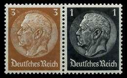 D-REICH ZUSAMMENDRUCK Nr W77 Postfrisch WAAGR PAAR X7A654E - Zusammendrucke