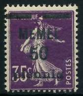 MEMEL 1920 Nr 23a Postfrisch X887DC2 - Memelgebiet