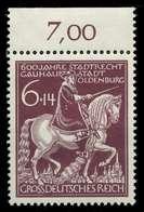 DEUTSCHES REICH 1945 Nr 907 Postfrisch ORA X8B059A - Ungebraucht
