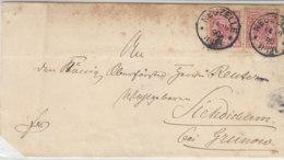 Brief Mit K1 NEUZELLE 14.10.90 AK-Stempel GRUNOW - Briefe U. Dokumente