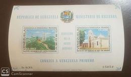 O) 1968 VENEZUELA, MEET VENEZUELA - HOTEL HUMBOLDT - CHURCH OF ST FRANCIS OF YARE, LANDSCAPE, MNH - Venezuela