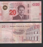 20 Dinars 2017 Tunisie Tunisia - Tusesië