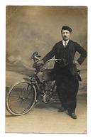 Saumur -photo Collet;(voir Tampon Dos) - Vélo à Moteur , Carte Photo;(D.2535) - Saumur