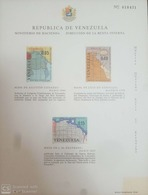 O) 1965 VENEZUELA, MAP OF VENEZUELA AND GUAINIA BY AGUSTIN CODAZZI, MNH - Venezuela
