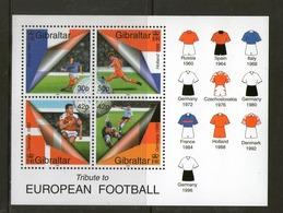 GIBRALTAR 2000 FOOTBALL   YVERT N°B38  NEUF MNH** - Coupe Du Monde