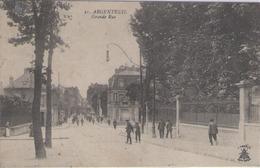 CPA 95 Val D'Oise - ARGENTEUIL - Grande Rue - Argenteuil