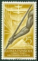 SPANISH COLONIES - GUINEA 1957 ATLANTIDA SQUADRON AIR MAIL** (MNH) - Guinea Española