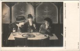 5LE 914. PARIS - MUSEUMS - INTERIEUR DE CAFE - J. BERAUD - Musées