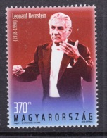 29.- HUNGARY 2018 Leonard Bernstein Was Born 100 Years Ago - Musique