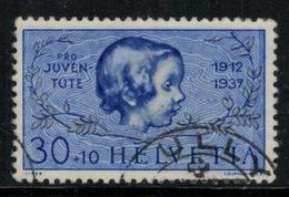 Suisse /Schweiz/Svizzera/Switzerland // Pro-Juventute // 1937 //  Tête De Fille No.84 Oblitéré - Usati