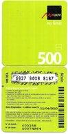 @+ Benin - Recharge GSM Moov - 500 (12/04/2010) - Benin