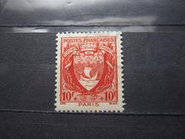 VEND BEAU TIMBRE DE FRANCE N° 537 , XX !!! (f) - 1941-66 Armoiries Et Blasons