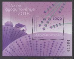 1.- HUNGARY 2018 Medical Plant Of The Year 2018 - True Lavender - Plantas Medicinales