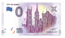 CITY OF GHENT (billet 0 Euro) - Andere