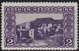 ÖSTERREICH AUSTRIA [BosHerz] MiNr 0030 A ( **/mnh ) - Bosnia And Herzegovina