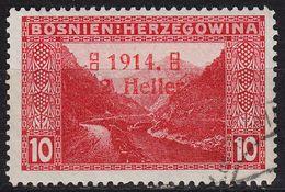 ÖSTERREICH AUSTRIA [BosHerz] MiNr 0090 I ( O/used ) - Bosnia And Herzegovina