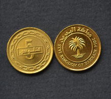 Bahrain 5 Filscoin 2011. Asia. Uncirculated. Magnetic - Bahrein