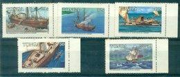 TONGA Série Bateaux 597 / 601 N Xx (will Mariner ) TB Cote:13.50 - Tonga (1970-...)