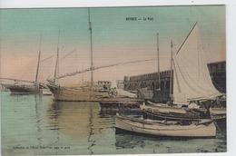 ALPES MARITIMES - ANTIBES - Le Port  ( Ecrite En 1918 ) - Antibes