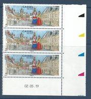 YT 5336 - Coin Daté - Cassel - Géants Du Nord - Village Préféré Des Français - 2010-....