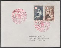 N°1006/1007 Oblitérés 1°jour Sur LSC Du 13/12/1954 (croix-rouge 1954) ! - 1950-1959