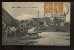Quetigny Le Cafe Collot  (attelage) - Autres Communes