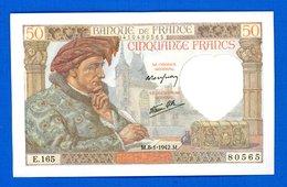 50  Fr  Du  8/1/1942  Neuf - 1871-1952 Antichi Franchi Circolanti Nel XX Secolo