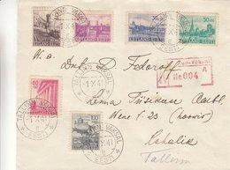 Estonie - Lettre Recom De 1941 - Tallinn Vaksal - Exp Vers Tallinn - Rare - Estonia