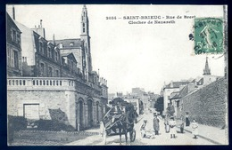 Cpa  Du 22 Saint Brieuc  Rue De Brest , Clocher De Nazareth   LZ29 - Saint-Brieuc