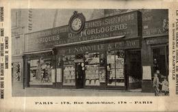 PARIS FABRIQUE D'HORLOGERIE NAINVILLE RUE SAINT MAUR - District 10